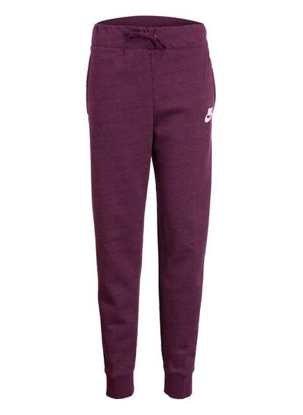 Nike Sweatpants, Farbe: BORDEAUX MELIERT (Bild 1)