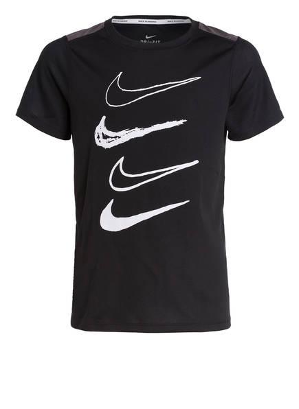 Nike T-Shirt DRY, Farbe: SCHWARZ/ WEISS (Bild 1)
