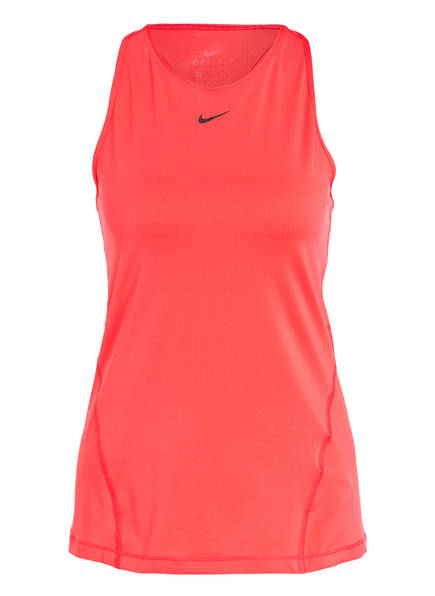 Nike Tanktop PRO DRI-FIT aus Mesh, Farbe: HELLROT (Bild 1)