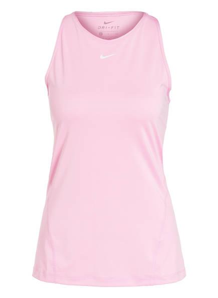 Nike Tanktop PRO DRI-FIT aus Mesh, Farbe: ROSA (Bild 1)