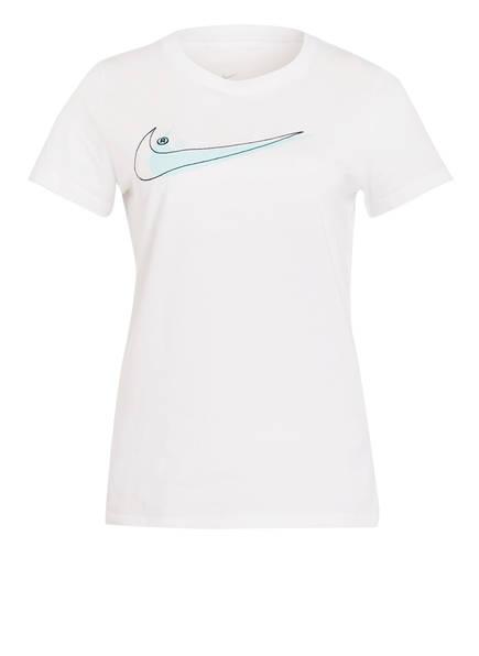 Nike T-Shirt DOUBLE SWOOSH, Farbe: WEISS (Bild 1)