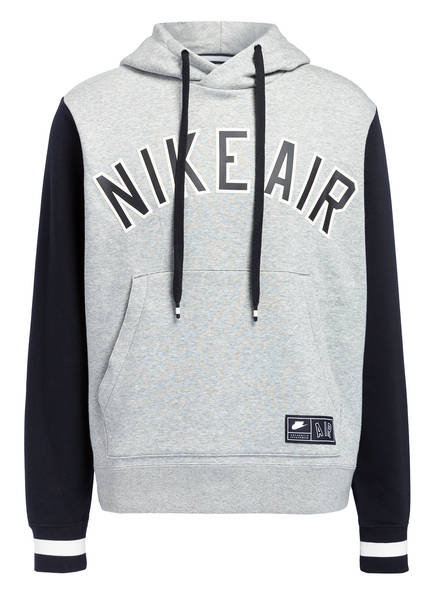 Nike Hoodie AIR, Farbe: GRAU MELIERT (Bild 1)