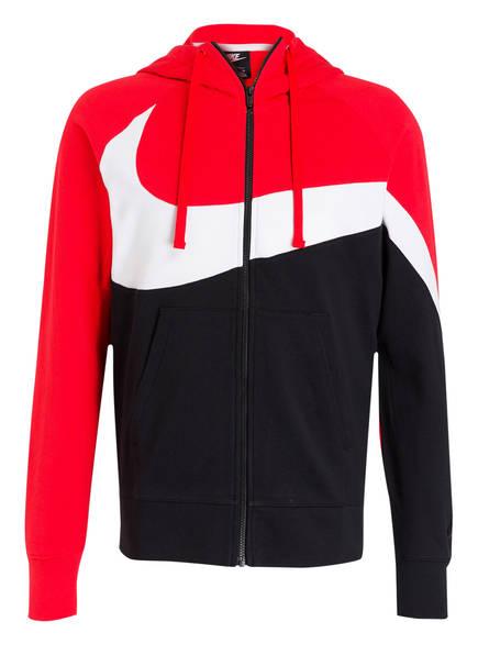 size 40 e0433 17659 Nike Sweatjacke, Farbe ROT  SCHWARZ  WEISS (Bild 1)