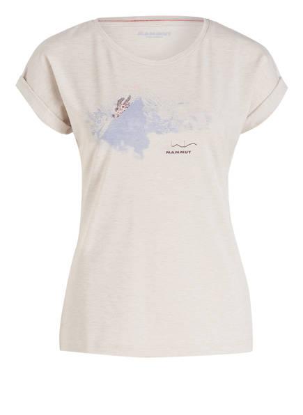 MAMMUT T-Shirt MOUNTAIN, Farbe: CREME MELIERT (Bild 1)