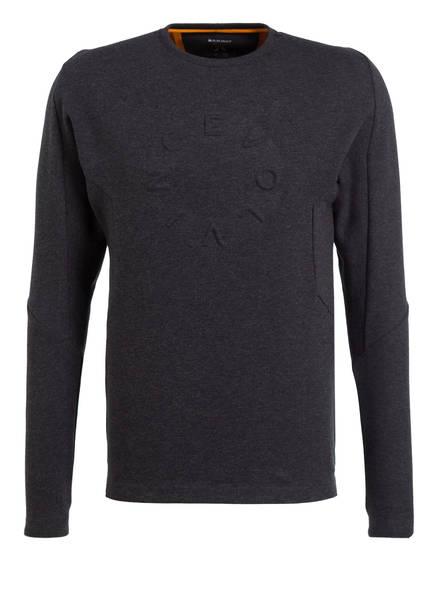 MAMMUT Sweatshirt TEUFELSBERG, Farbe: SCHWARZ MELIERT (Bild 1)