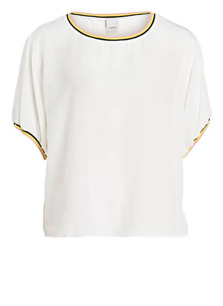 PINKO Blusenshirt BUGIARDO aus Seide, Farbe: WEISS (Bild 1)