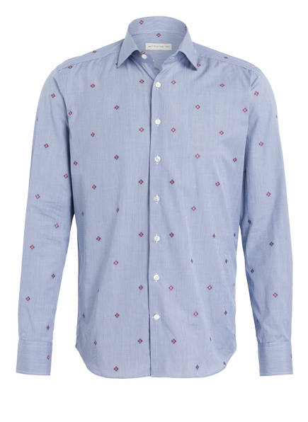 ETRO Hemd Regular Fit , Farbe: BLAU/ WEISS MELIERT (Bild 1)