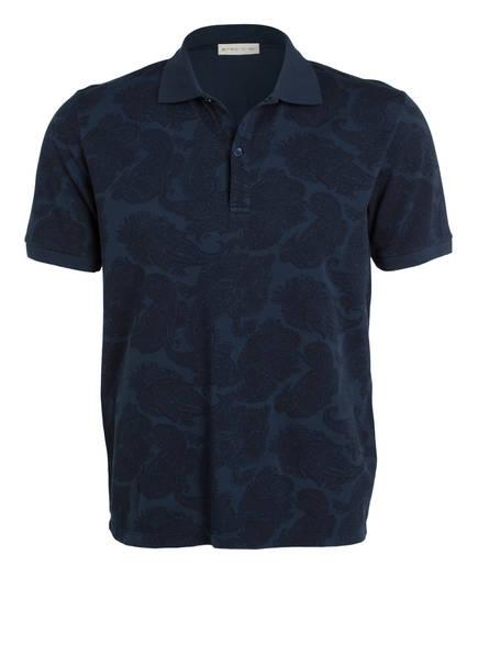 ETRO Piqué-Poloshirt, Farbe: DUNKELBLAU (Bild 1)