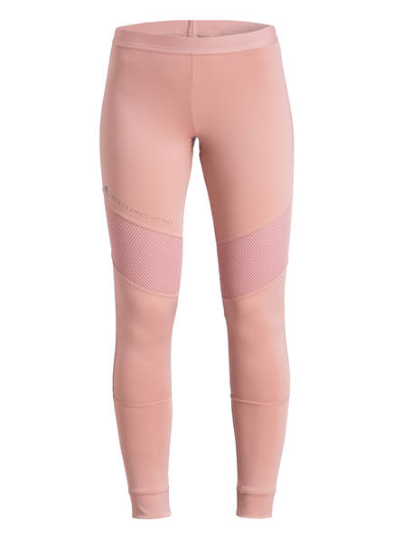 adidas by Stella McCartney Tights PERFORMANCE ESSENTIALS mit Mesh-Einsätzen, Farbe: ROSE (Bild 1)