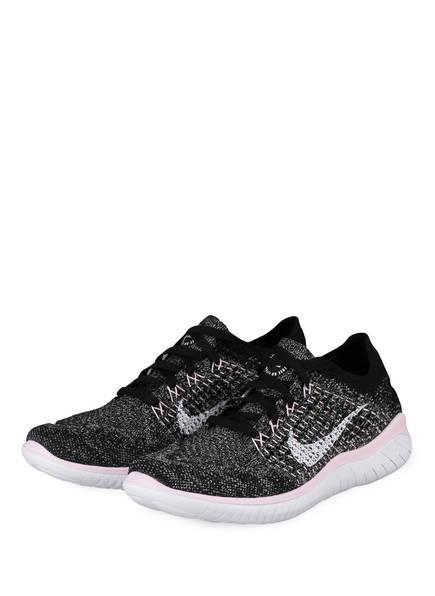 Nike Laufschuhe FREE RN FLYKNIT, Farbe: GRAU/ ROSA (Bild 1)