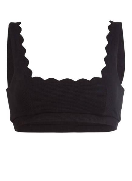 marysia Bustier-Bikini-Top MINI PALM SPRINGS, Farbe: SCHWARZ (Bild 1)