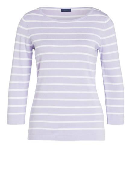 DARLING HARBOUR Pullover, Farbe: HELLLILA/ WEISS GESTREIFT (Bild 1)