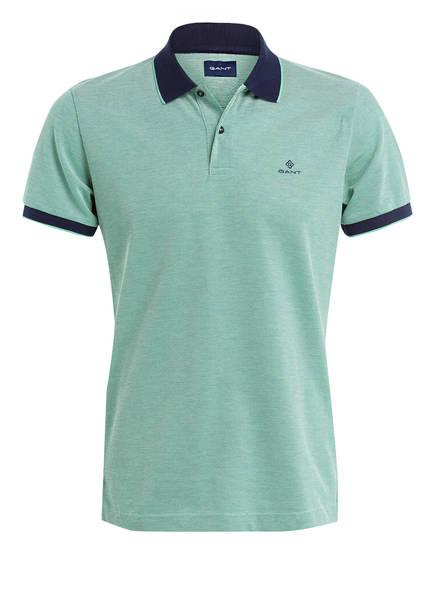 GANT Piqué-Poloshirt, Farbe: GRÜN (Bild 1)
