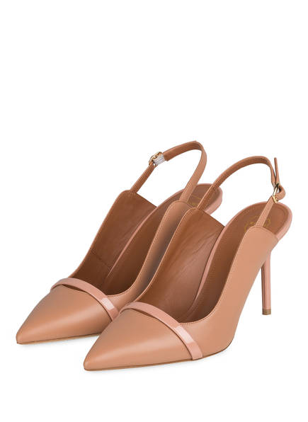 MALONE SOULIERS Slingpumps MARION 85, Farbe: NUDE (Bild 1)