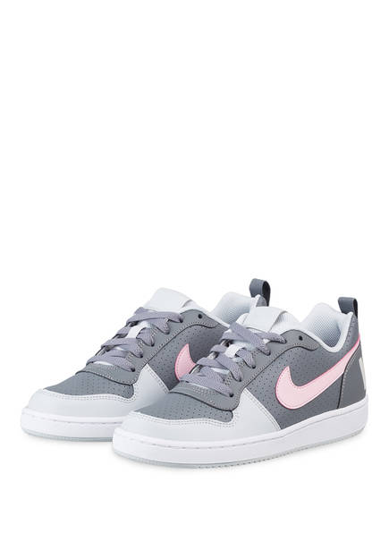 Nike Sneaker COURT BOROUGH, Farbe: GRAU/ ROSE (Bild 1)
