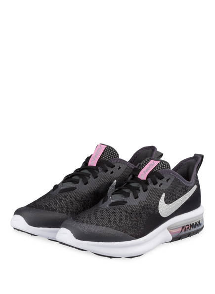 Nike Sneaker AIR MAX SEQUENT 4, Farbe: SCHWARZ/ PINK (Bild 1)