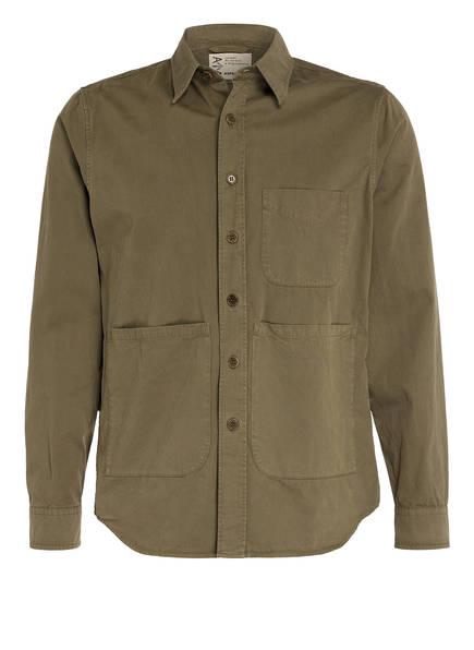 ASPESI Overshirt Slim Fit, Farbe: OLIV (Bild 1)