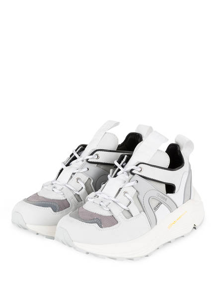 GANNI Sneaker BROOKLYN LOW, Farbe: WEISS (Bild 1)