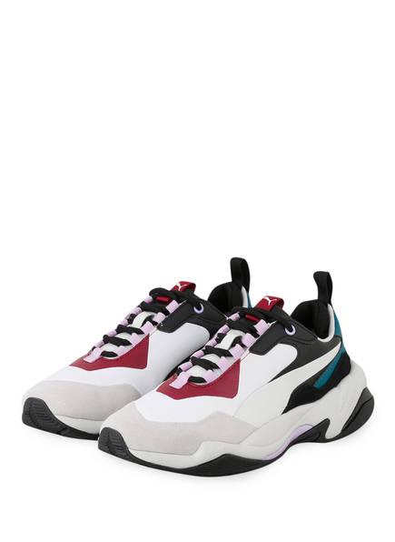 PUMA Sneaker THUNDER RIVE DROITE, Farbe: WEISS/ ROT/ PETROL (Bild 1)