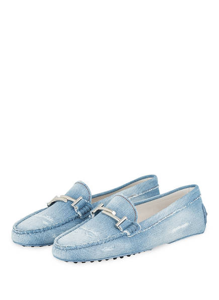 TOD'S Mokassins GOMMINO, Farbe: LIGHT DENIM (Bild 1)