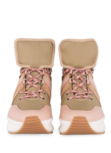 sneaker Nicole Rosa Plateau See Chloé By Bronze Metallic tnqZwv