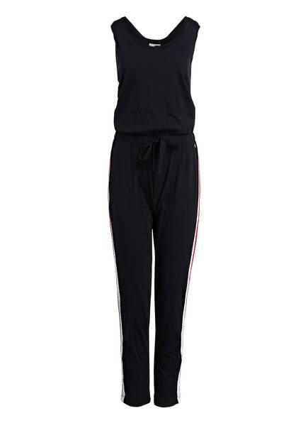 DEHA Jumpsuit mit Galonstreifen, Farbe: SCHWARZ (Bild 1)