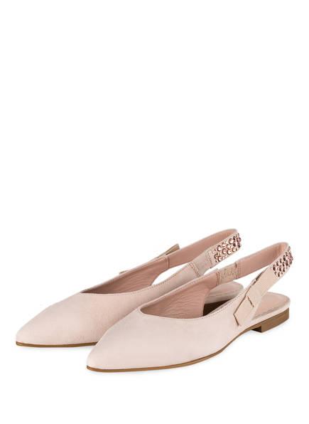 MARCCAIN Sling-Ballerinas, Farbe: NUDE (Bild 1)