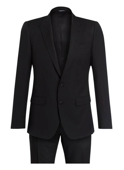 DOLCE&GABBANA Anzug MARTINI Slim Fit, Farbe: SCHWARZ (Bild 1)