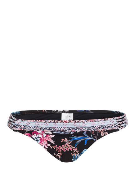 SEAFOLLY Bikini-Hose WATER GARDEN, Farbe: SCHWARZ/ BLAU/ ROSA (Bild 1)
