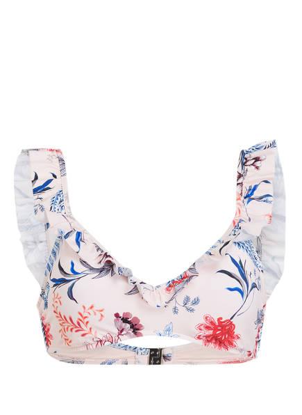 SEAFOLLY Bustier-Bikini-Top WATER GARDEN, Farbe: ROSA/ BLAU (Bild 1)