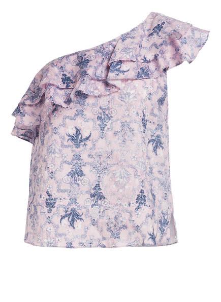 ISABEL MARANT ÉTOILE One-Shoulder-Bluse THOMY, Farbe: HELLLILA/ BLAU (Bild 1)