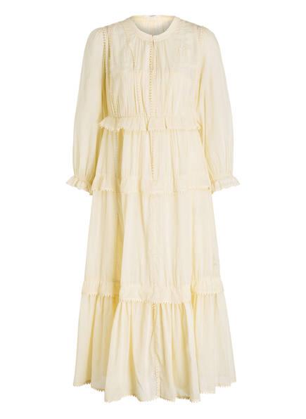 ISABEL MARANT ÉTOILE Kleid ABONI , Farbe: HELLGELB (Bild 1)