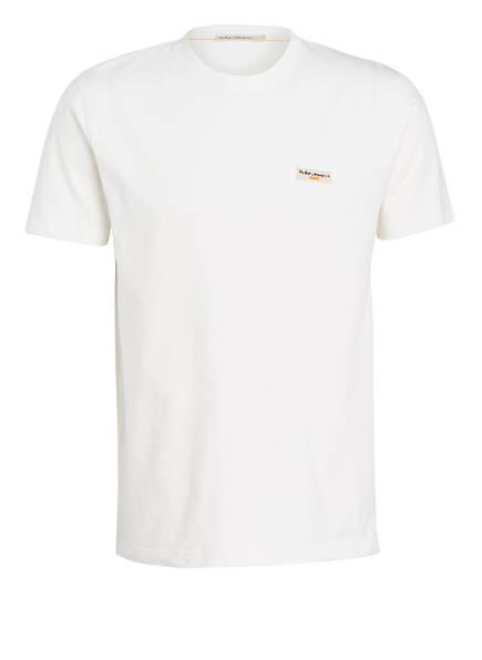 Nudie Jeans T-Shirt DANIEL, Farbe: WEISS (Bild 1)