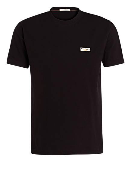 Nudie Jeans T-Shirt Daniel schwarz