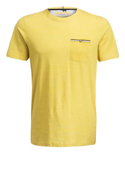 TED BAKER T-Shirt, Farbe: GELB/ WEISS (Bild 1)