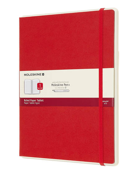 MOLESKINE Notizbuch PAPER TABLET 1, Farbe: ROT (Bild 1)