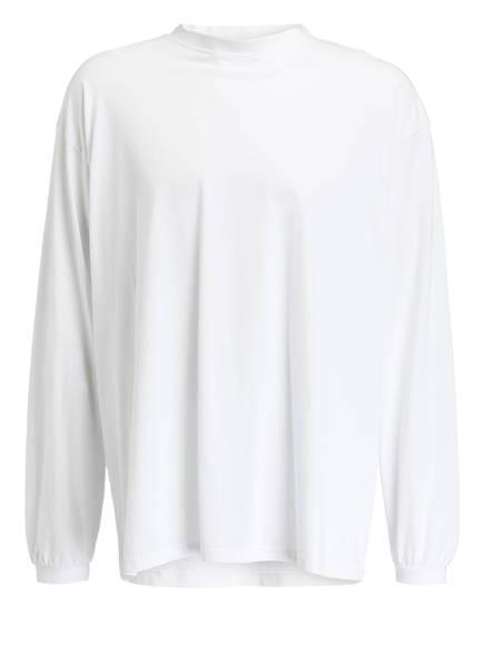 VETEMENTS Oversized-Langarmshirt, Farbe: WEISS (Bild 1)