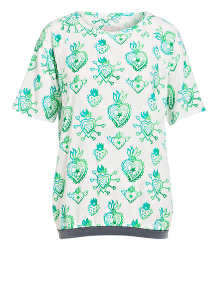 LIEBLINGSSTÜCK Blusenshirt, Farbe: WEISS/ GRÜN/ MINT (Bild 1)