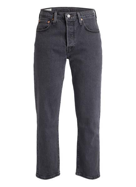 Levi's® Cropped-Jeans 501, Farbe: BLACK (Bild 1)