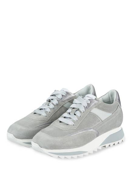 Santoni Sneaker SUEDE, Farbe: HELLGRAU (Bild 1)