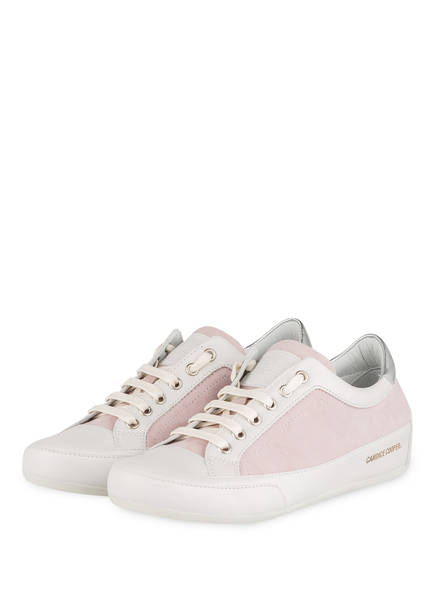 Candice Cooper Sneaker ROCK DELUXE, Farbe: ROSA/ WEISS (Bild 1)