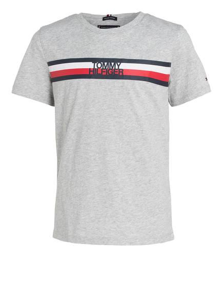 TOMMY HILFIGER T-Shirt , Farbe: GRAU MELIERT (Bild 1)