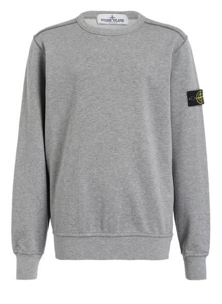 STONE ISLAND JUNIOR Sweatshirt, Farbe: GRAU MELIERT (Bild 1)