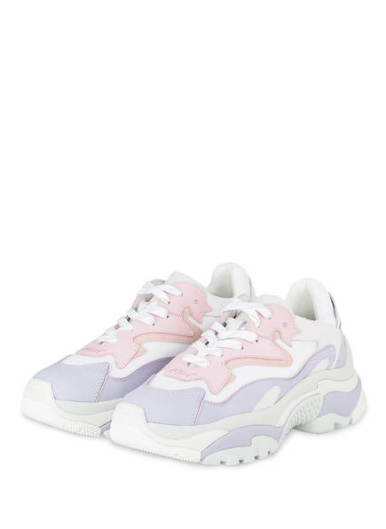 ash Plateau-Sneaker ADDICT , Farbe: HELLLILA/ WEISS/ ROSA (Bild 1)