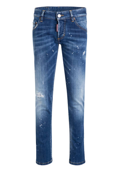 DSQUARED2 Destroyed-Jeans CLEMENT , Farbe: BLAU (Bild 1)