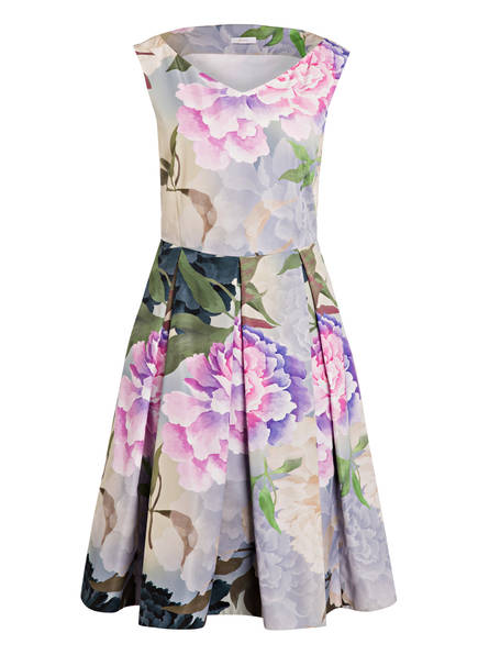 RIANI Kleid , Farbe: LILA/ WEISS/ GRÜN (Bild 1)