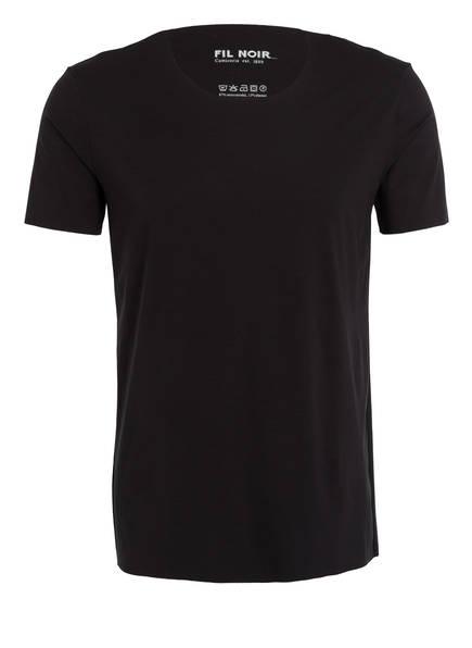 FIL NOIR T-Shirt NOVARA, Farbe: SCHWARZ (Bild 1)
