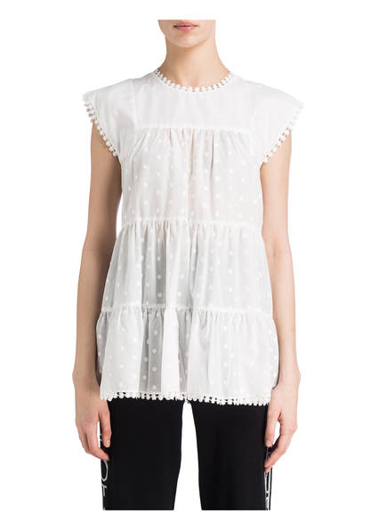 Blusentop Weiss Weiss See Chloé By See Chloé See Blusentop By q8PHTT
