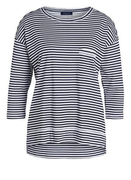 Weiss Dunkelblau Harbour shirt Lounge Gestreift Darling nUBpw1