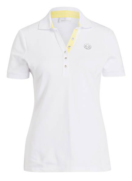 SPORTALM Piqué-Poloshirt, Farbe: WEISS (Bild 1)